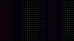 Strobing Multicolored Ascending Dot Pattern Wall Background Loop - stock footage