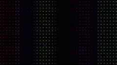 Strobing Multicolored Dot Pattern Wall Background Loop - stock footage