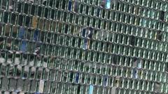 Reykjavik harpa close Stock Footage