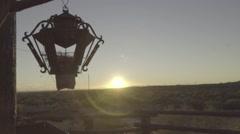 Western Desert Landscape Stock Footage