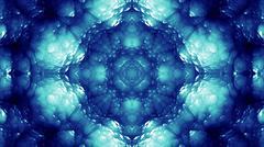 Glassy Abstract Kaleida Style Background Illustration - stock illustration