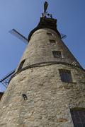 Windmill Ovenstaedt (Petershagen, Germany) Stock Photos