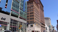 Downtown Cleveland (2 of 4) - stock footage