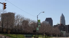 Downtown Cleveland (3 of 4) Stock Footage