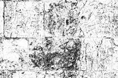 Black-and-white texture  Jerusalem stone Stock Illustration