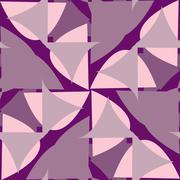 Purple Triangular Background - stock illustration