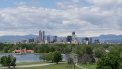 Scenic Denver Colorado - stock footage