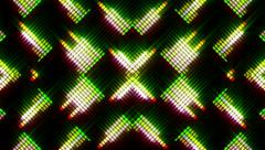 VJ Loops - Neon Lights #04 - stock footage