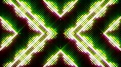 VJ Loops - Neon Lights #24 - stock footage