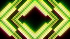 VJ Loops - Neon Lights #27 - stock footage