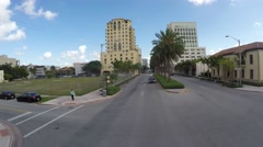Miami residencial district Stock Footage