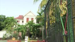 Bob Marley Museum, 56 Hope Road, Kingston Stock Footage