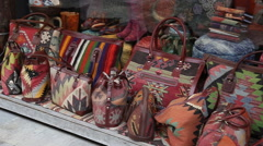 Traditional souvenir shop in Istanbul Stock Footage