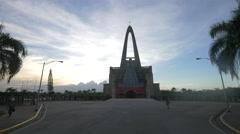 La Altagracia Church in Dominican Republic Stock Footage