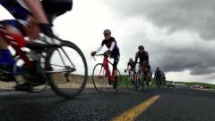 Cycling road race Stock Footage