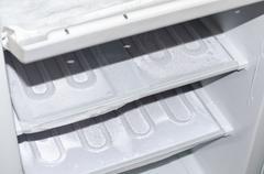 Freezer Defrosting - stock photo