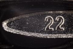 Number Twenty Two - stock photo