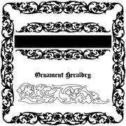 Stock Illustration of ornament heraldic