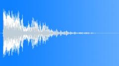Footstep sweetener metal big 03 Sound Effect