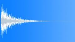 Impact floor metal door 1 Sound Effect