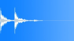 Matter Mayhem - Metal large sheet-Mid-distant Fall-01 Sound Effect