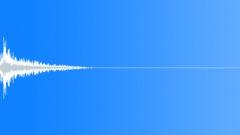 Matter Mayhem - Metal Medium object fall on ground-Distant-02 Sound Effect