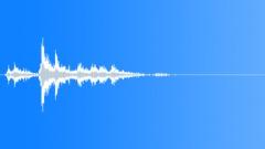 Matter Mayhem - Metal Medium object fall on ground-Distant-03 - sound effect