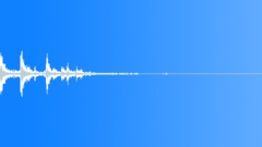 Matter Mayhem - Metal Small box fall on ground-Distant-04 Sound Effect