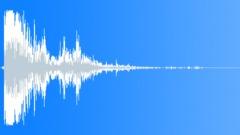 Matter Mayhem - Small Blowup Wooden structure Mid-01 Sound Effect