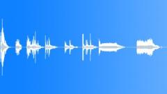 servo coffee grinder rods - sound effect