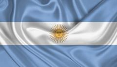 Flag of Argentina Stock Photos