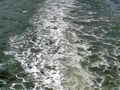 The dark water of sea. - stock photo