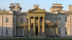 Dundurn Castle is a historic neoclassical mansion in Hamilton, Ontario. - stock footage
