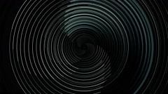 Rotating line groove loop - stock footage