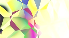 Mondrian painting style abstract shapes movement  Stock Footage