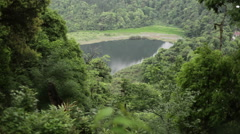 Khecheopalri Lake, Sikkim, India, Long shot Stock Footage
