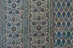 Intricate Iznik mosaic Stock Photos