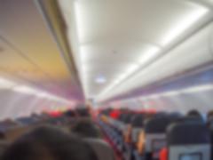Abstract blur  Plane cabin Stock Photos