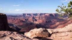 Dead Horse Point in Moab, Utah - stock footage