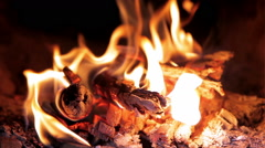 Fire taymlaps Stock Footage