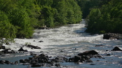 TVA Shuts Down Ocoee River Awesome Time Lapse Fast Stock Footage