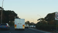 Stock Video Footage of Driving POV towards Sydney airport 4K