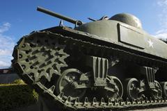 Sherman Tank - stock photo