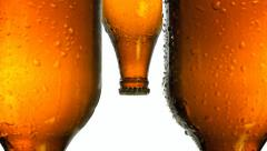 Beer drops penis metaphor Stock Footage
