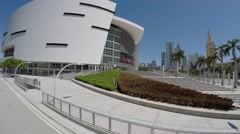 American Airlines Arena, Miami Stock Footage