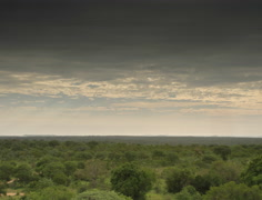 African Savannah Cloud Timelapse HDR in 4K and HD - stock footage