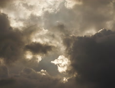 Dramatic Storm Clouds Overhead in 4K and HD - stock footage
