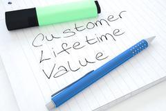 Customer Lifetime Value - stock illustration
