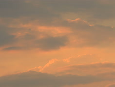 Pastel Cloud Sunset Timelapse in 4K and HD - stock footage