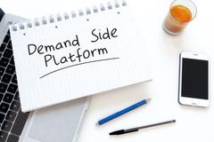 Demand Side Platform - stock illustration
